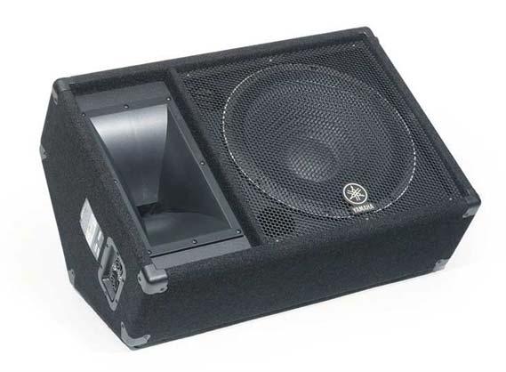 yamaha sm15v 15 inch passive stage monitor speaker