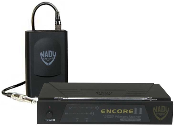 nady encore ii vhf guitar wireless system. Black Bedroom Furniture Sets. Home Design Ideas
