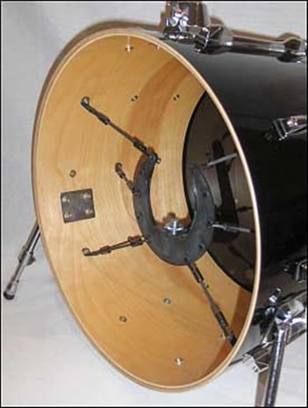 kelly shu composite bass drum microphone mounting system. Black Bedroom Furniture Sets. Home Design Ideas