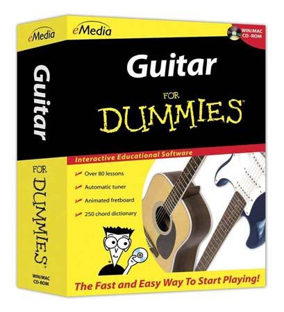 emedia guitar for dummies software. Black Bedroom Furniture Sets. Home Design Ideas