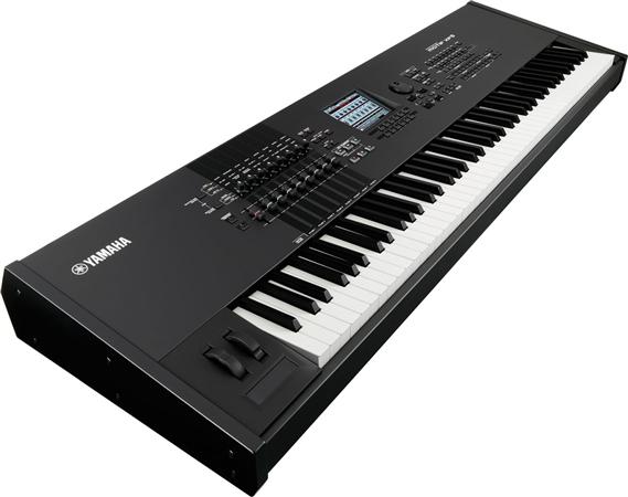 Yamaha motif xf8 88 key keyboard synthesizer workstation for Yamaha keyboard synthesizer