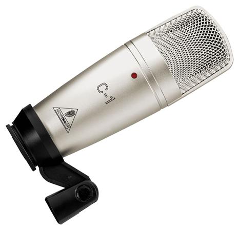 behringer c1 studio condenser microphone. Black Bedroom Furniture Sets. Home Design Ideas
