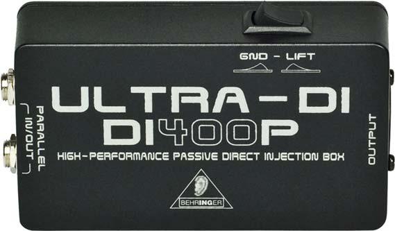 Behringer Ultra-DI DI400P switch view