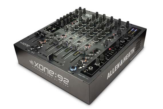 allen and heath xone 92 pro 6 channel dj mixer. Black Bedroom Furniture Sets. Home Design Ideas