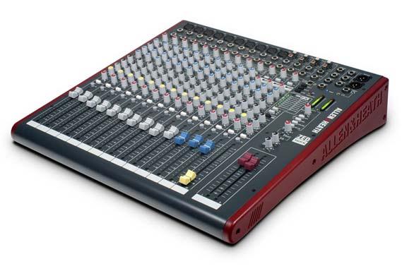 allen amp heath zed16fx 16 channel multipurpose usb mixer