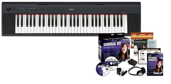 Yamaha piaggero np11 61 key digital piano for Yamaha np11 digital piano