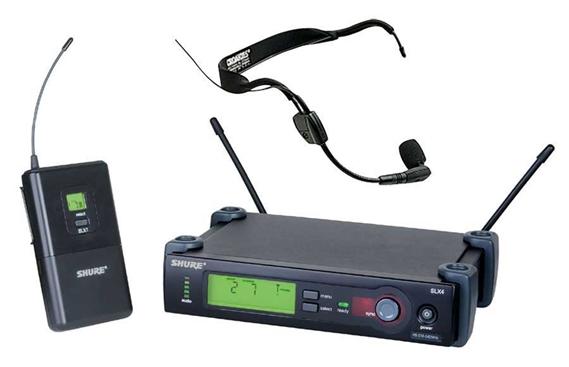 shure slx uhf headset wireless microphone system. Black Bedroom Furniture Sets. Home Design Ideas