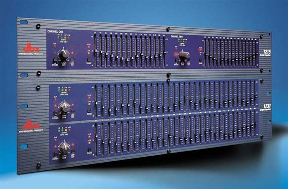 Dbx 1215 Dual Channel 15 Band 2 3 Octave Graphic Equalizer