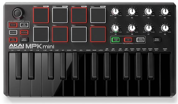 Akai MPK Mini MKII Compact Keyboard Controller