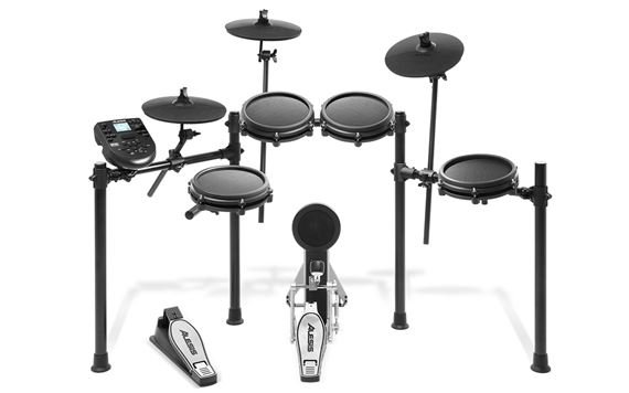 "Alesis Nitro Expansion Set 10/"" Ride//Hi-Hat Cymbal 1 Zone w//21/"" Arm /& Clamp NEW"