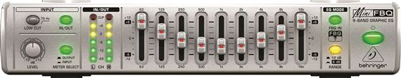 Behringer FBQ800 9 Band Graphic Equalizer