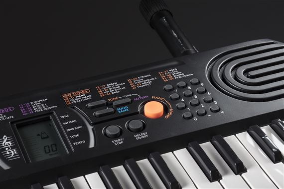 deb47cd12 Casio SA76 44 Key Mini Personal Keyboard Learn To Play Package