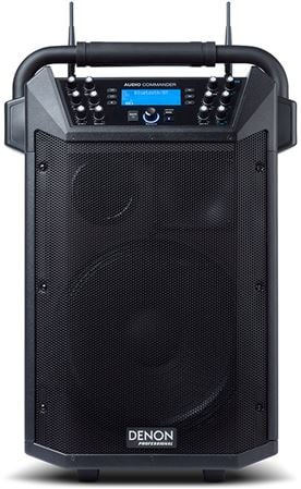 Denon Audio Commander All In One Compact PA System With Wireless Mics