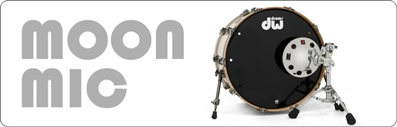 drum workshop moon mic bass drum microphone with stand chrome. Black Bedroom Furniture Sets. Home Design Ideas