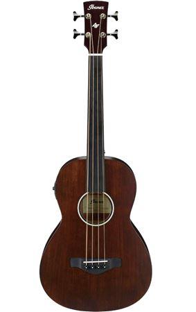 ibanez avnb1fe fretless parlor acoustic bass guitar. Black Bedroom Furniture Sets. Home Design Ideas