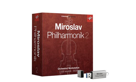 IK Multimedia Miroslav Philharmonic 2 Software Instrument