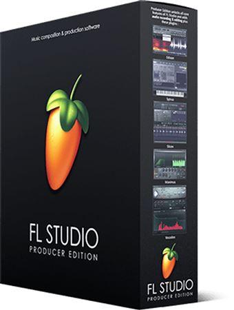 Image Line FL Studio 20 Producer Edition Music Production Software Box