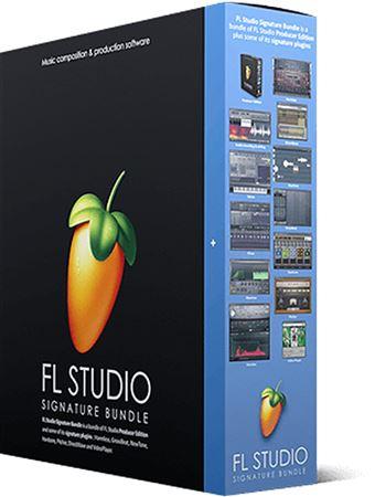 Image Line FL Studio 20 Signature Bundle Music Production Software Box