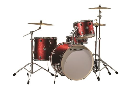 Ludwig Element Icon 4 Piece Shell Kit Drum Set