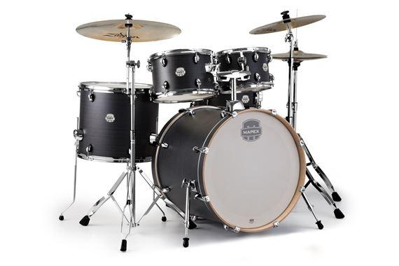 Mapex Storm Rock 5 Piece Drum Set With Planet Z Cymbals