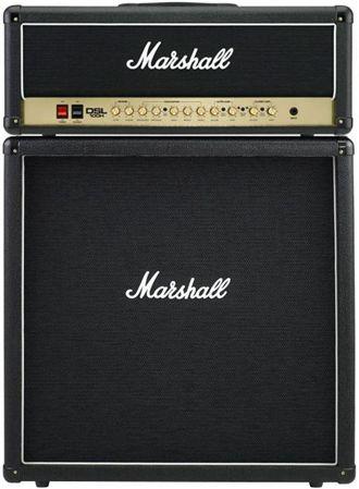 Marshall DSL100 Head and MX412B Cab Guitar Amp Half Stack