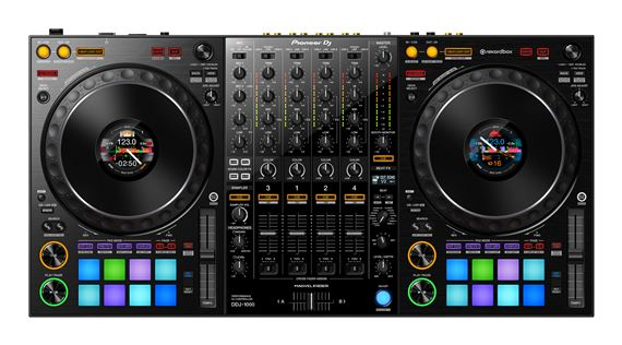 Pioneer DDJ1000 Professional 4 Channel DJ Controller