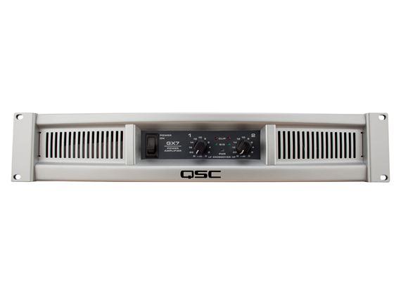 QSC GX7 1000 Watt Two Channel Stereo Power Amplifier