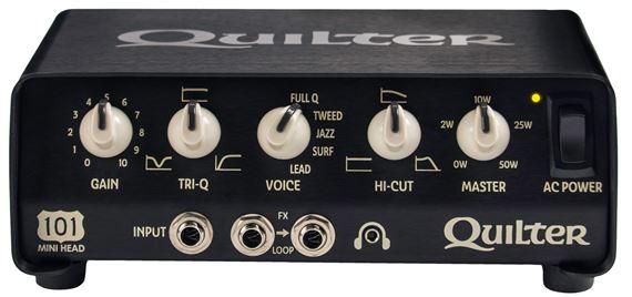 8b1be0c804 Quilter 101 Mini Guitar Amplifier Head 50 Watts