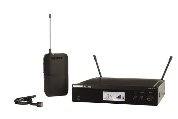shure blx 14rw85 rackmountable lapel wireless mic system. Black Bedroom Furniture Sets. Home Design Ideas