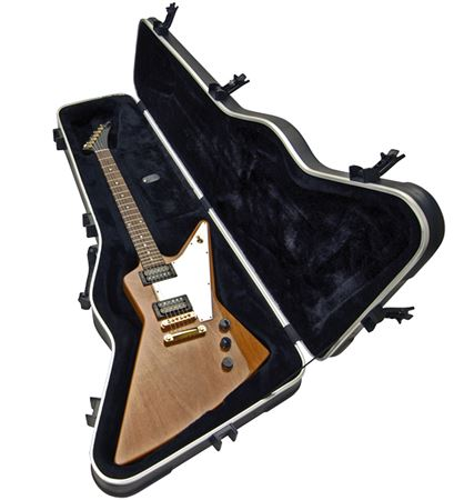 Skb 63 Electric Guitar Case For Gibson Epiphone Explorer And Firebird
