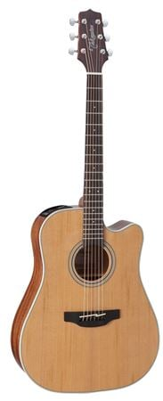 Takamine Acoucstic Electric Guitar Natural with Acoustasonic 40