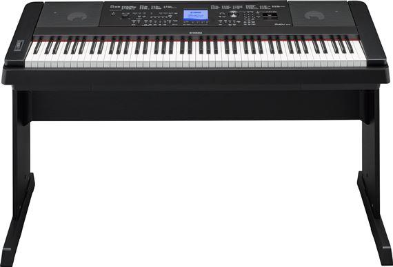 yamaha dgx660b portable digital piano. Black Bedroom Furniture Sets. Home Design Ideas
