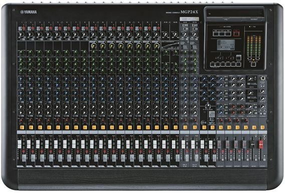 Yamaha Mgp24x 24 Channel 4 Bus Mixing Console