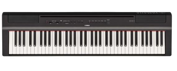 yamaha p121 73 key weighted action digital piano. Black Bedroom Furniture Sets. Home Design Ideas