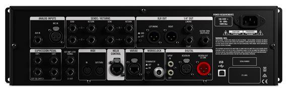Line 6 Helix Rack Dual DSP Audio Engine Guitar Processor