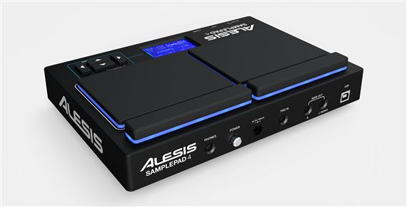 Alesis SamplePad 4 4-Pad Sample and Loop Percussion Instrument