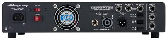 ampeg pf500 portaflex bass guitar amplifier head. Black Bedroom Furniture Sets. Home Design Ideas