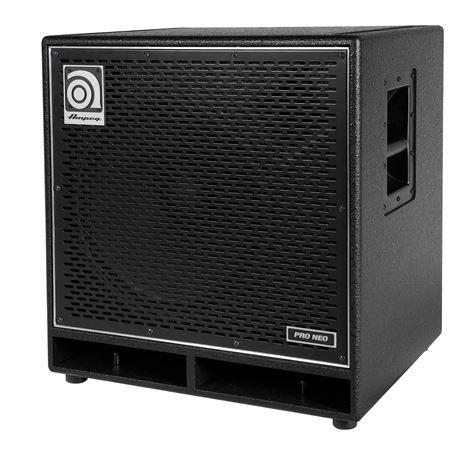 ampeg pn115hlf pro neo bass guitar amplifier cabinet. Black Bedroom Furniture Sets. Home Design Ideas