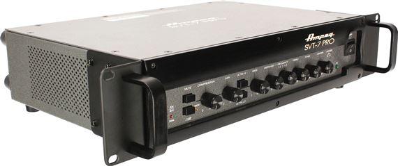 ampeg svt7 pro bass guitar amplifier head. Black Bedroom Furniture Sets. Home Design Ideas