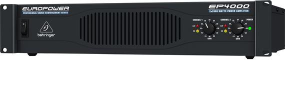 Behringer EP4000 Stereo Power Amplifier