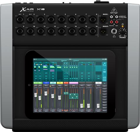 behringer x air x18 tablet controlled digital mixer. Black Bedroom Furniture Sets. Home Design Ideas