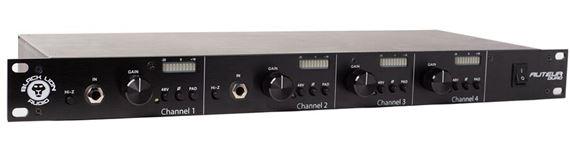 Black Lion Audio AUTEUR QUAD 4 Channel Microphone Preamp