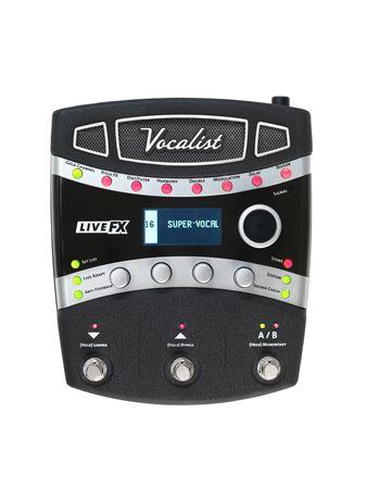 digitech vocalist live fx vocal effects processor. Black Bedroom Furniture Sets. Home Design Ideas