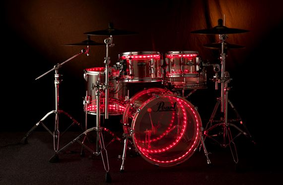 Pearl Crystal Beat 4 Piece Shell Kit Drum Set