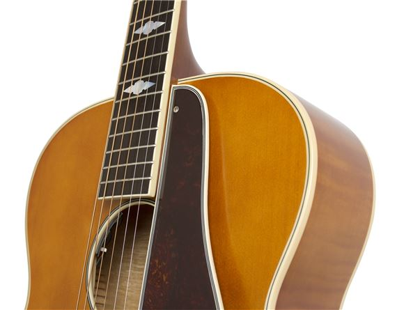 epiphone masterbilt century de luxe archtop acoustic electric guitar. Black Bedroom Furniture Sets. Home Design Ideas