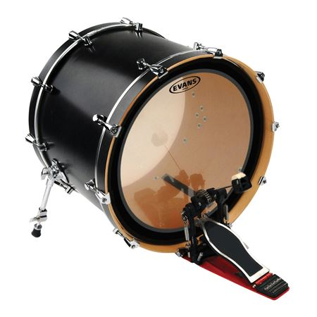 evans tt16emad 16 clear bass drum head tom hoop version. Black Bedroom Furniture Sets. Home Design Ideas