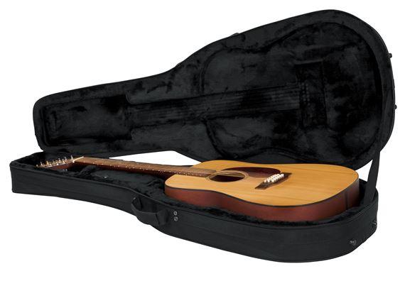 gator gldread12 lightweight 6 and 12 string acoustic guitar case. Black Bedroom Furniture Sets. Home Design Ideas