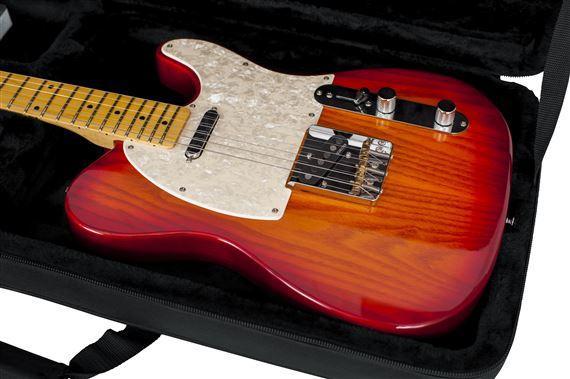 gator gcelec lightweight electric guitar case. Black Bedroom Furniture Sets. Home Design Ideas