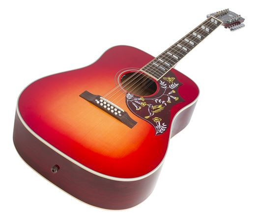 gibson 2018 hummingbird 12 string acoustic electric guitar with case. Black Bedroom Furniture Sets. Home Design Ideas