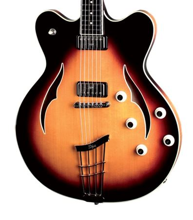hofner verythin special electric guitar with case. Black Bedroom Furniture Sets. Home Design Ideas